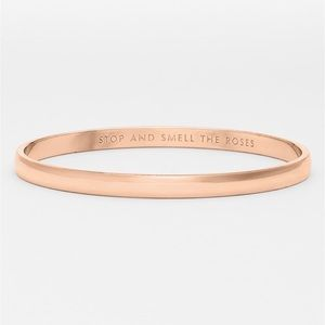 Kate Spade Rose Gold Idiom Bangle Bracelet ♠️